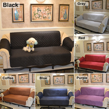 three seater multiseater sofa slipcover protector cover suede pet dog couch sofa antislip dirtproof sofa mat