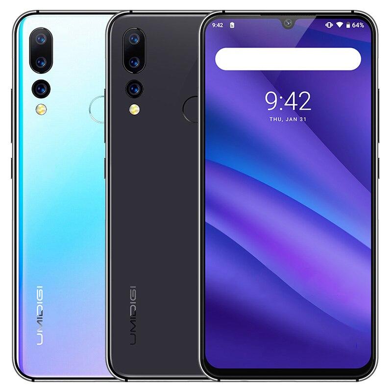 UMIDIGI A5 PRO Smartphone 6.3'' Android 9.0 Helio P23 ARM Mali G71 MP2 700MHz 4GB RAM 32GB ROM Three Rear Cams 4150mAh Mobile