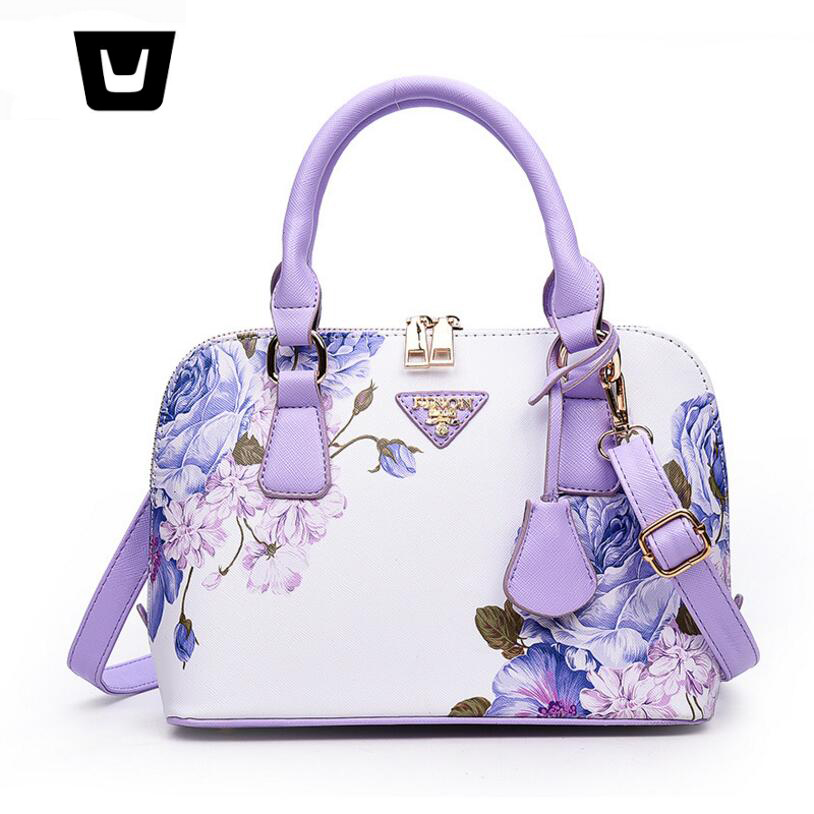 Ladies handbag 2018 new fashion gradient shoulder bag shell package DX18041608