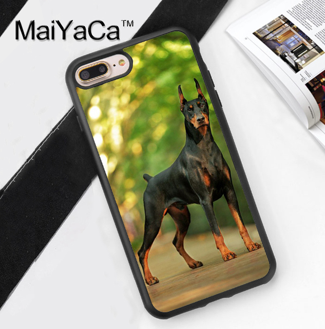 coque iphone 7 plus doberman