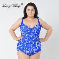 Lovey Village Ladies Fashion Halter Top Swimwear Female Women Swimsuit Sexy Monokini One Piece Swimsuit Plus