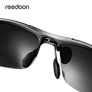Image 3 - Reedoon Photochromic Sunglasses Polarized Lens UV400 Aluminium Magnesium Frame Driving Goggles For Men High Quality
