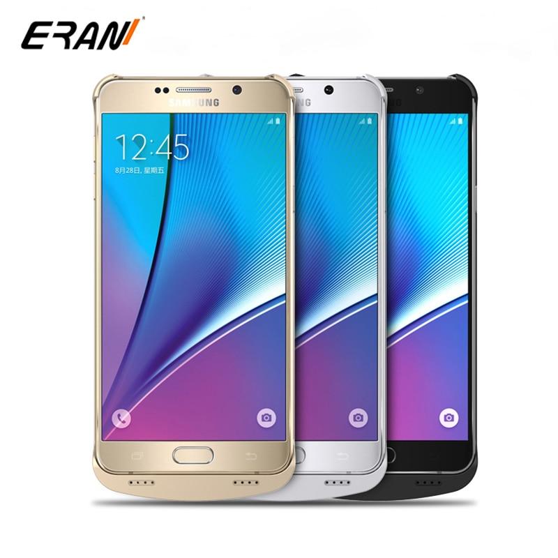 bilder für Ladegerät Fall für Samsung Galaxy Note 5 Energienbank-ladegerät Fall Utral Dünne Externe Batterie-Backup Pack Ladekoffer