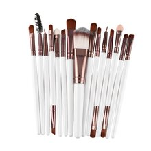 15pcs/set Makeup Brushes Sets Kit Eyelash Lip Foundation Powder Eye Shadow Brow Eyeliner Cosmetic Make Up Brush Beauty Tool цена в Москве и Питере