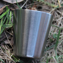 12Pcs Outdoor Camping Hiking Polished Stainless Steel Whiskey Liquor Cup for Hip Flask