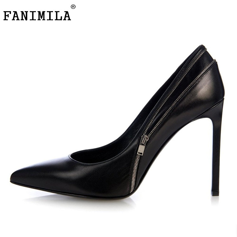Stiletto Women Pumps Sexy Pointed Toe High Heels Shoes Woman Brand New Design Office Ladies Party Shoes Footwear Size 35-46 B253 sexy pointed toe high heels women pumps shoes new spring brand design ladies wedding shoes summer dress pumps size 35 42 302 1pa