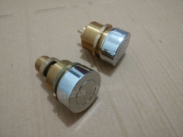 Massage bathtub copper surf switch valve, bathroom startup button air switch pneumatic parts , bathtub shower faucet set