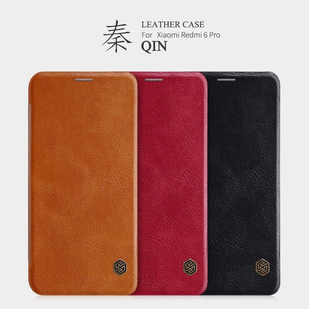 Für mi a2 lite Fall Vintage PU Leder flip Harte PC rückseitige abdeckung Wallet Card Slot für xiaomi redmi 6 pro Telefon Fall 5,84''