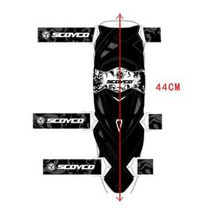 Image 4 - Scoyco motocykl nakolannik mężczyźni ochronny sprzęt kolano Gurad ochraniacz kolan Rodiller sprzęt biegów Motocross Joelheira Moto #