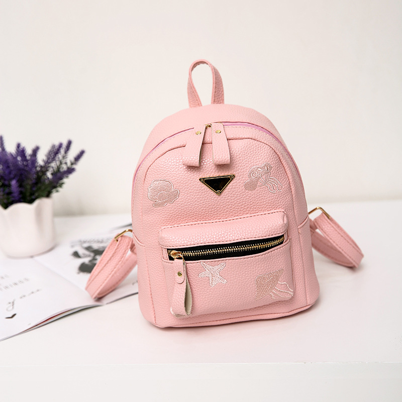 2018 Real Mochila Feminina Newfashion Designed Brand Backpack Women Leather School Bag F ...