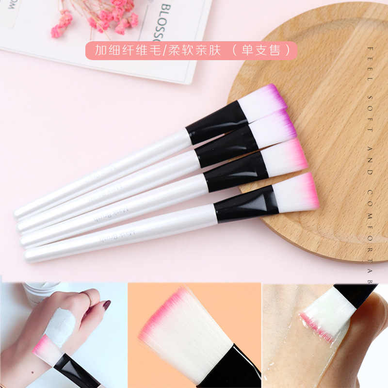 3PCS Portable Women Facial Mask Applying Brushes Face Eyes Makeup Cosmetic Beauty Soft Brush Tool
