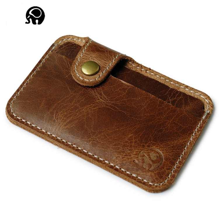 2018 Genuine Leather Cardholder Passport Covers Women Purse  Men's Business Credit Card Holder Cover For Auto Documents Casual