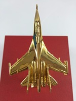 Alloy Simulation Su27 Fighter,collection model J11 Airplane Toy Vehicles,Gold plated SU 30 aircraft,golden fighter,free shipping