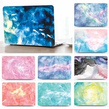 Marble Pattern Protective Hard Shell Case Keyboard Cover Set For 11 12 13 15