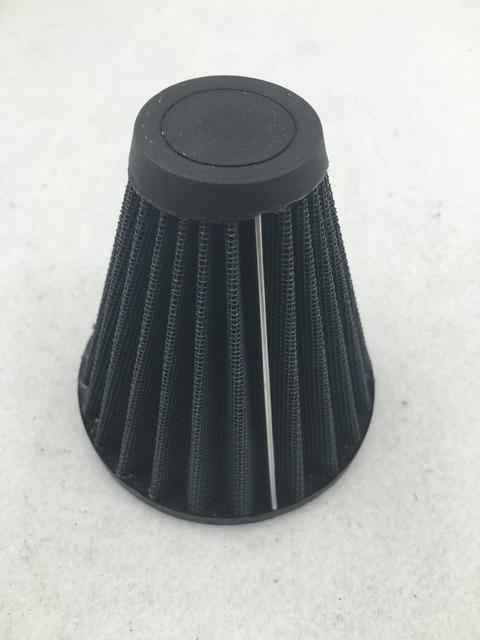 Envío libre motor del mercado de accesorios piezas de Reemplazo Del Filtro de Aire Elemento para Harley S & S EVO CV Custome Sportster XL negro