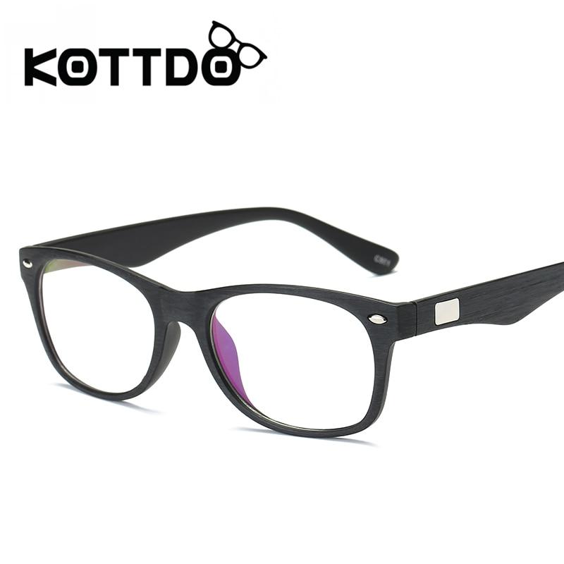 KOTTDO 2017 New Men Luxury Brand Classic Frames Glasses Big ...