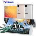 """Y6 Doogee Макс 3D Отпечатков Пальцев мобильный телефон 6.5 """"1920*1080 MTK6750 Qcta основные Android 6.0 3 ГБ + 32 ГБ 13.0MP 4300 мАч 4 Г LTE Смартфон"""