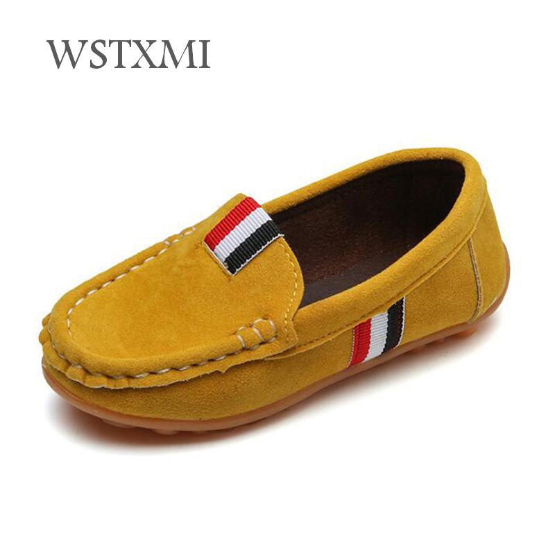Children Loafers Shoes for Boys Sneakers Baby Slip-on Soft Kids Casual Shoes Toddler Girls Breathable Flat Shoes Flock LeatherChildren Loafers Shoes for Boys Sneakers Baby Slip-on Soft Kids Casual Shoes Toddler Girls Breathable Flat Shoes Flock Leather