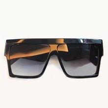 Quadrado do vintage Da Moda óculos de Sol de Tamanho Grande Óculos de  Armação de Acetato cad06a7986