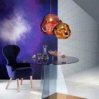 Postmodern Italia diseñador Tom DIXON luz pendiente Acryl conciso Lava fusión luz comedor Bar estudio lámparas
