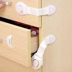 1 шт. Детский Детская Блокировка для безопасности защитный замок шкафа для холодильников ящик замок Дети Детская безопасность пластиковый