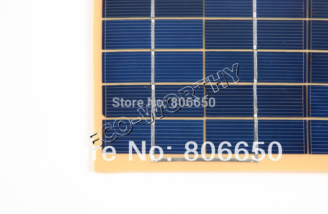 10w  2 pcs 5W  18v  Solar Cell panel for diy boat , car 12V battery charger,free shipping *