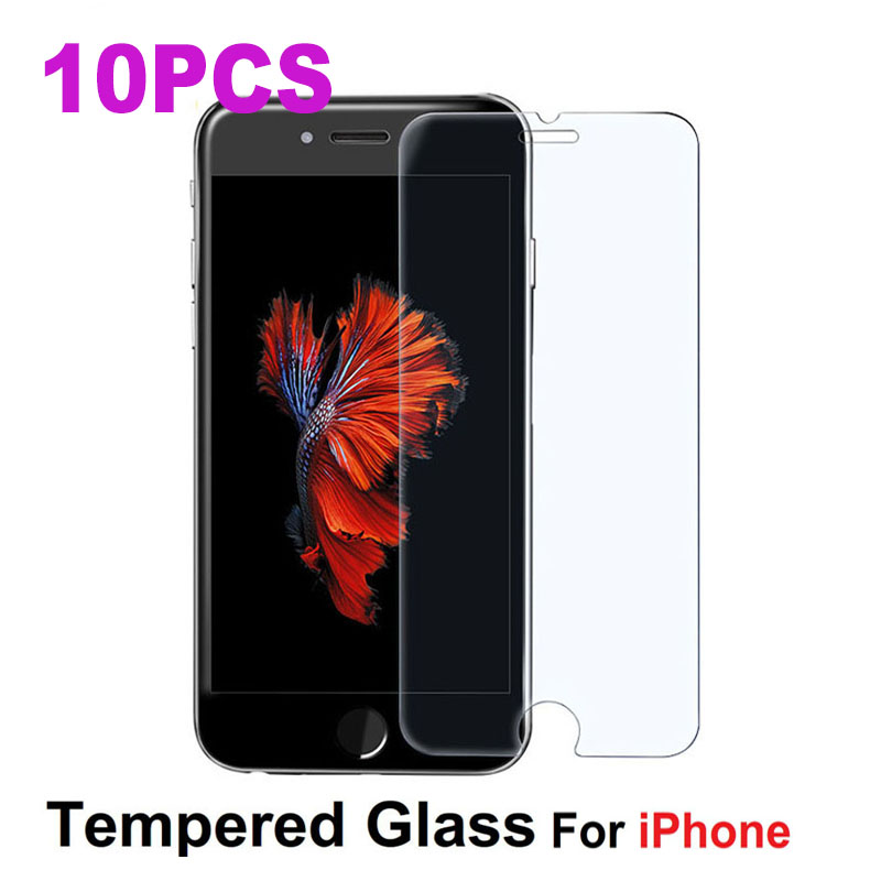 10PCS glass for iphone 5s 6 7 8 9H tempered glass on for iphone 5 5 6 s 7 8 X Anti-scratch case Screen protector Tempered Glass 10PCS glass for iphone 5s 6 7 8 9H tempered glass on for iphone 5 5 6 s 7 8 X Anti-scratch case Screen protector Tempered Glass