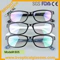 605 Высокое качество с ценой по прейскуранту завода весь рим большие пластиковые оптические frame близорукость очки, очки, очки