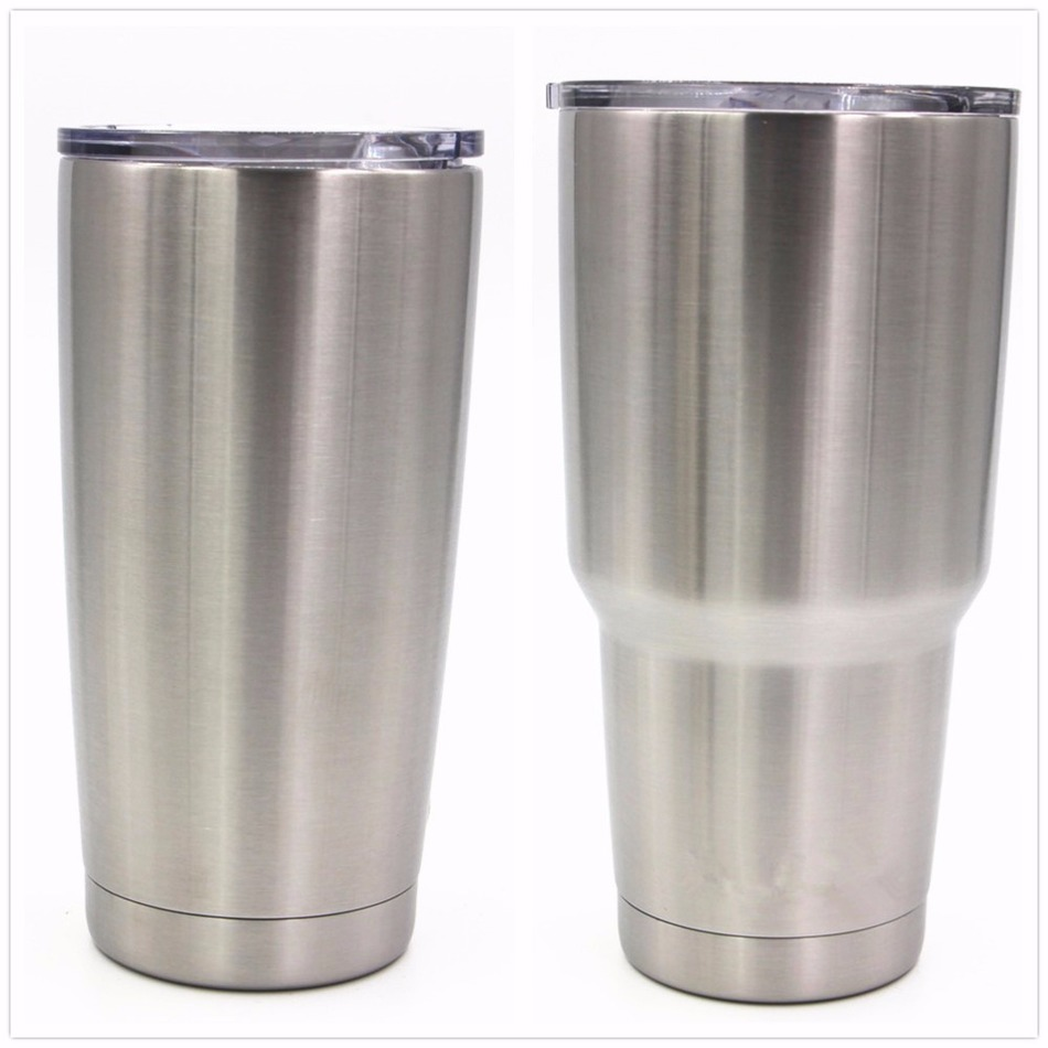 30oz 20oz 12oz 10oz Tumblers large capacity 304 Stainless steel Insulation Cup Pink cooler Travel Coffee