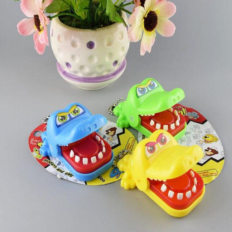 Biting Crocodile Jokes Mouth Dentist Bite Finger Game Fun Funny Crocodile NoveltyGag Toy Antistress Gift Kids Child Family Prank
