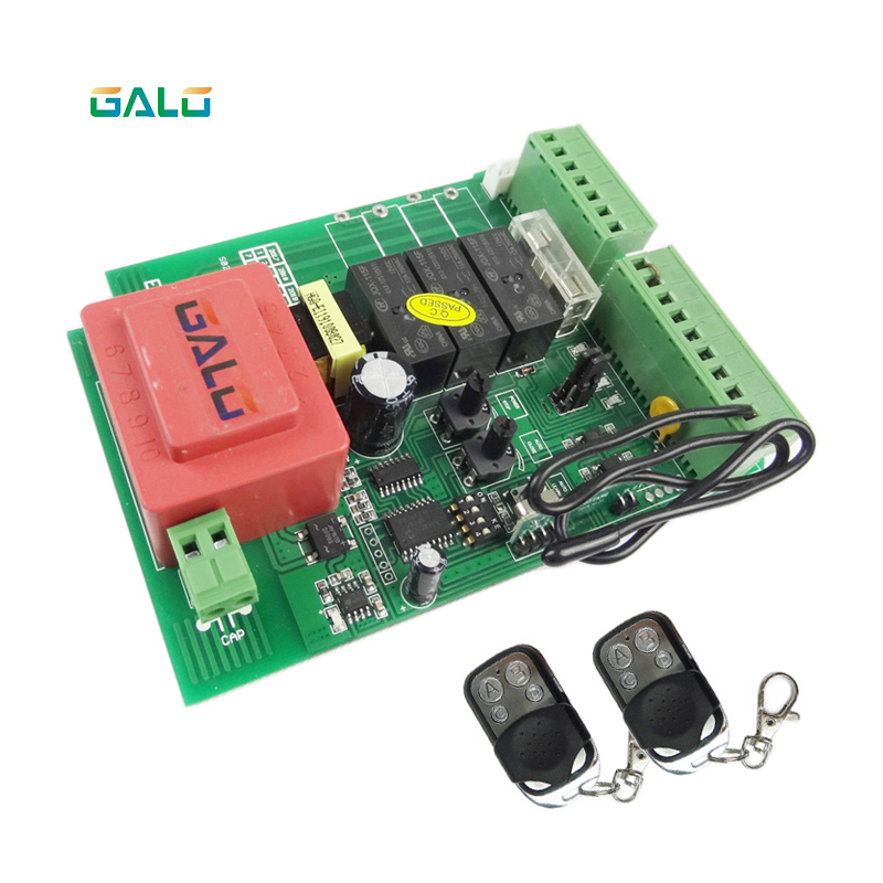 Image 2 - Sliding gate opener motor control unit PCB controller circuit board electronic card for KMP series-in Access Control Kits from Security & Protection