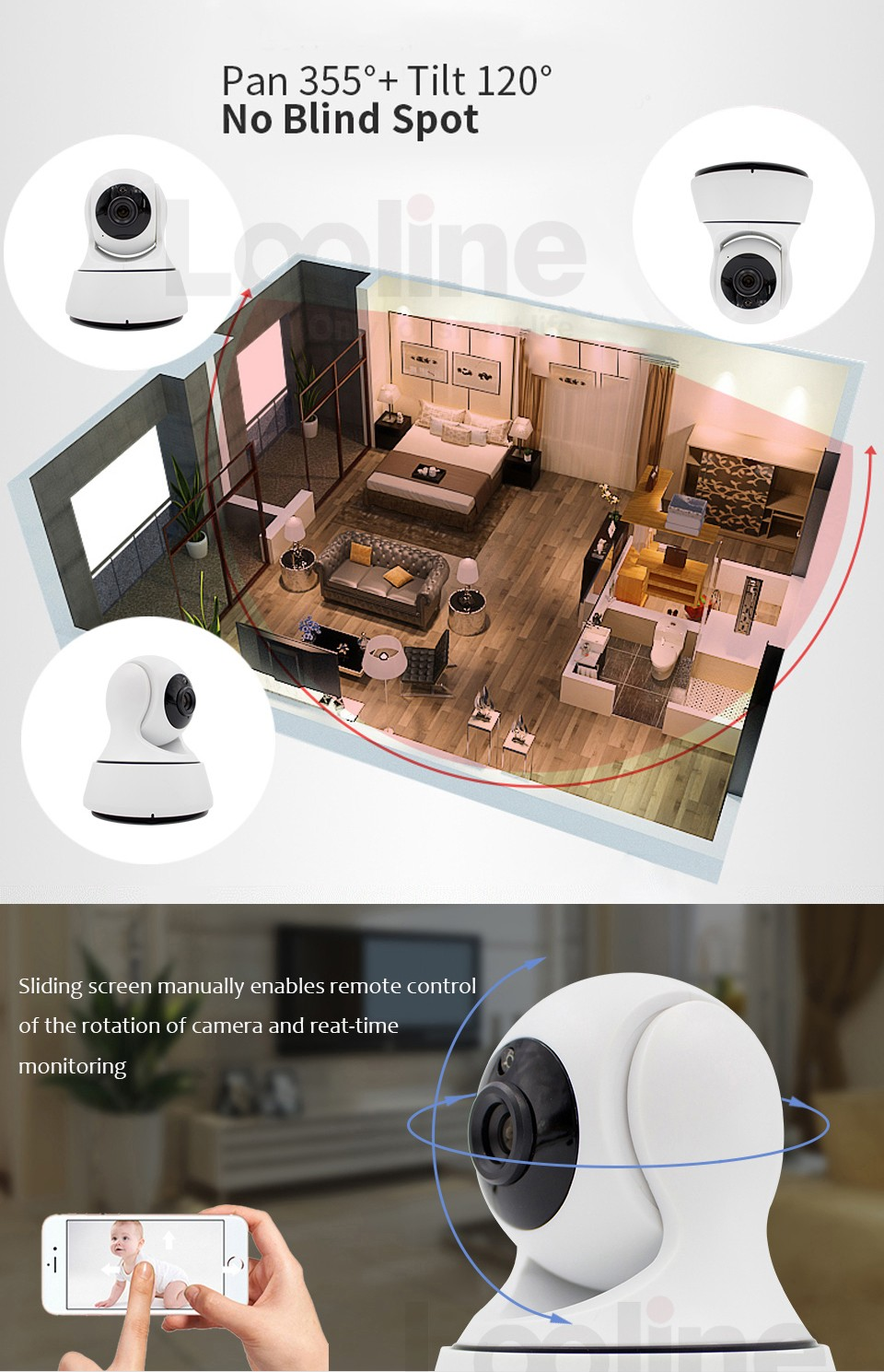 HD 1.0 MP 720P 2.0 MP 1080P Dome security Surveillance CCTV IP Camera IR night vison ONVIF 2.0 network indoor Cam P2P phone view