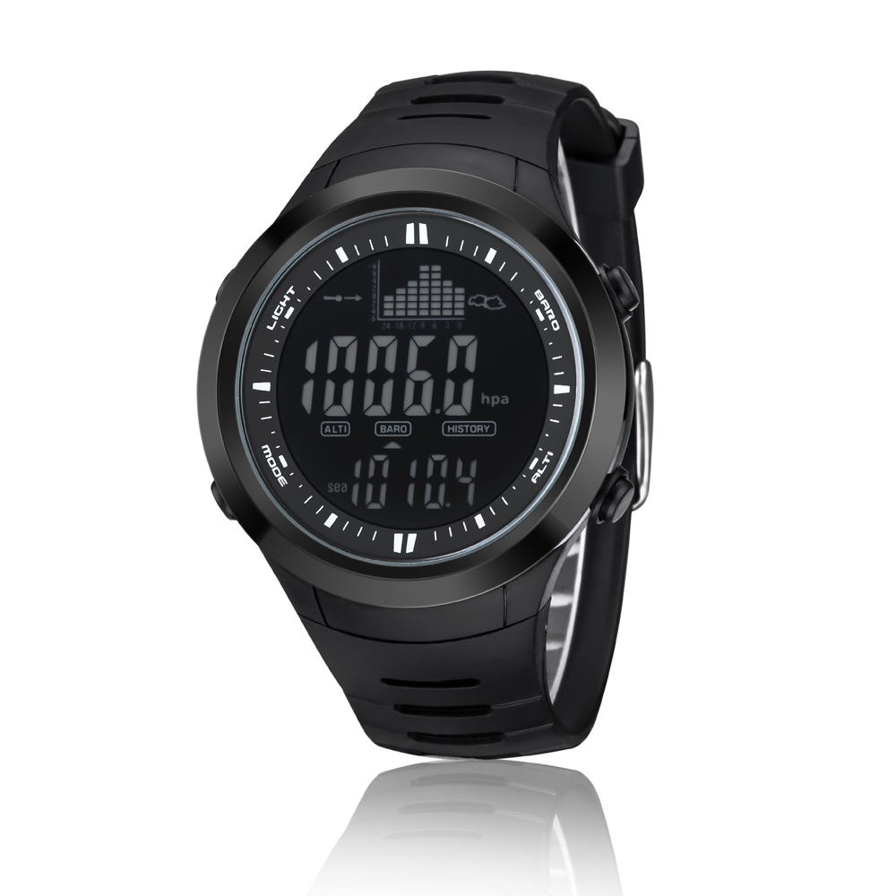 9d7ef48a7 Spovan SPV709 Fishing Digital Watch 5ATM Waterproof Barometer Altimeter  Thermometer Weather Forecast Stopwatch Sport Wrist Watch-in Digital Watches  from ...