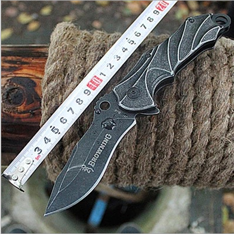 High Carbon Steel 7Cr17Mov Blade 58HRC Survival font b Knife b font Fixed font b Knife
