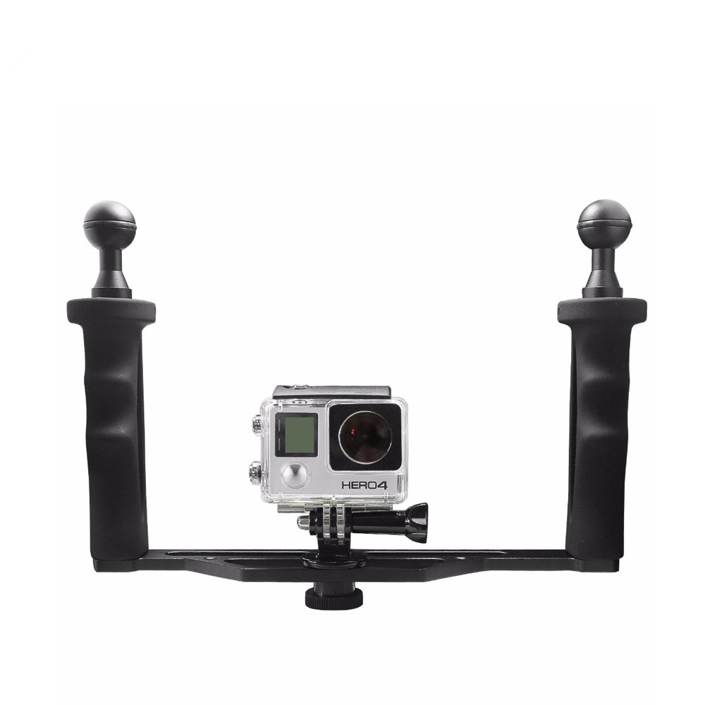 Universal Aluminum Handheld Stabilizer Grip for GoPro 4 3 3 Xiaomi yi 4K SJCAM SJ4000 SJ5000