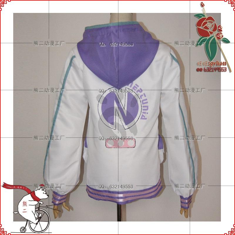Netune Purple Heart Hoodie - Hyperdimension Neptunia Cosplay - Костюмдер - фото 3