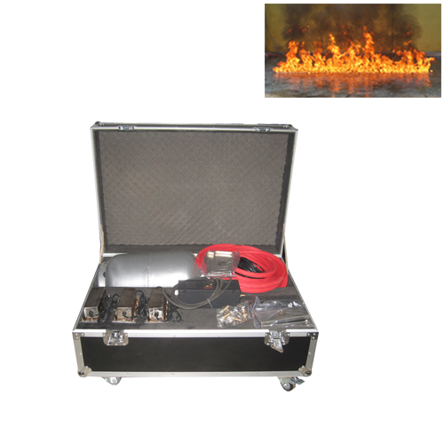 Gigertop New Fire Machine Flame On The Water including Gas Hose/Gas Tank 1 Meter Flame Height Suitable for Fountain Stage Effect the strokes the strokes room on fire