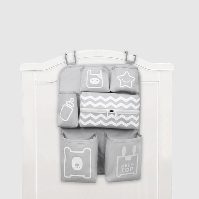 Органайзер для детской кроватки подгузник для новорожденного укладчик коляска бутылка для сумки держатель для хранения детских предметов детские постельные принадлежности набор аксессуаров