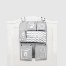 Baby Crib Organizer Pasgeboren Luier Stacker Wandelwagen Zak Fles Houder Opslag Baby Baby Artikelen Baby Beddengoed Set Accessoires