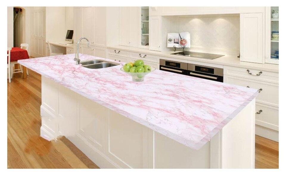 5 m mármore adesivos de parede pvc