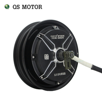QS 10inch 1000W 205 40H V2 Brushless DC Electric Motorcycle Hub Motor
