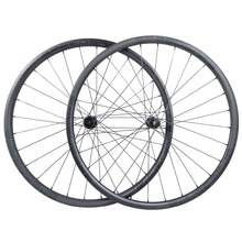 1280g carbon BOOST wheelset 29er MTB XC 30mm asymmetric 22mm deep 29inch clincher tubeless straight pull wheels 110mm 148mm