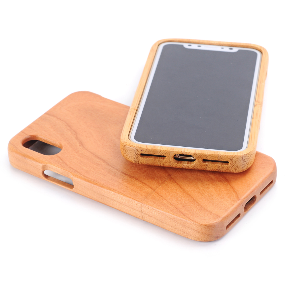 HTB1m2OzXAfb uJkHFJHq6z4vFXak Natural Green Real Wood Wooden Bamboo Case For iPhone XS Max XR X 8 7 6 6S Plus 5 5S SE Case Cover Phone Shell Skin Bag