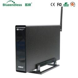 Алюминий 3,5 hdd Беспроводной рядом box hd sata случае usb 3,0 для hdd ssd до 6 ТБ с Беспроводной Wi-Fi роутера футляр для внешнего накопителя hdd