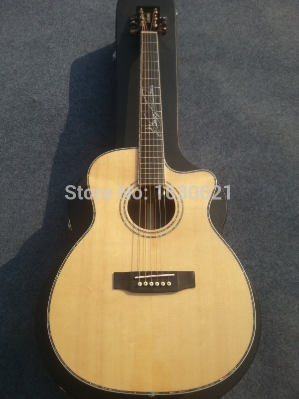 2015 new factory lw 6 strings acoustic guitar lw brand acoustic sitka top rosewood body. Black Bedroom Furniture Sets. Home Design Ideas