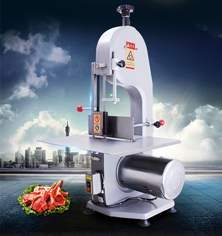 stainless steel blade bone saw / meat band saw /  Desktop fish andbone cutting machine,,Pork ribs cutter vik max adult kids dark blue leather figure skate shoes with aluminium alloy frame and stainless steel ice blade