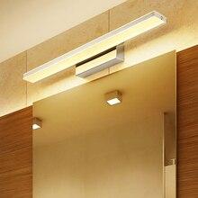 9W/12W Bathroom LED Sconces Mirror Vanity Lighting Acrylic+Metal Waterproof Mirror Wall Lamp