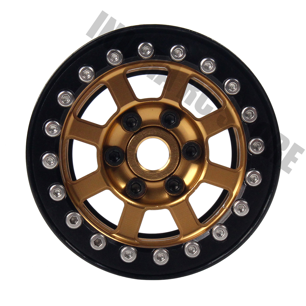 4PCS Metal 1.9 Inch Wheel Rim BEADLOCK for Axial SCX10 90046 D90 1/10 RC Crawler Wheel Hub-in Parts & Accessories from Toys & Hobbies    2