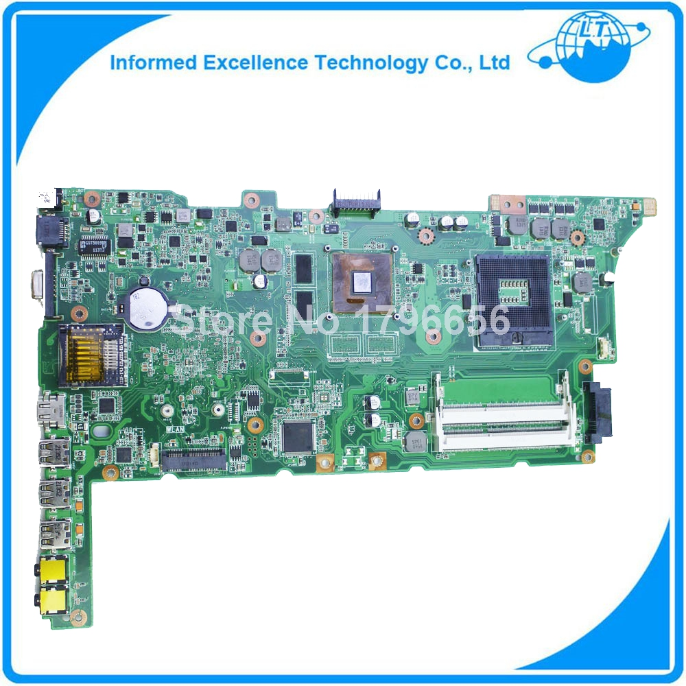 все цены на  For ASUS K73SJ K73SD REV 2.5/2.3  Laptop motherboard mainboard  with NVIDIA GeForce GT520M GPU 100% tested free shipping  онлайн