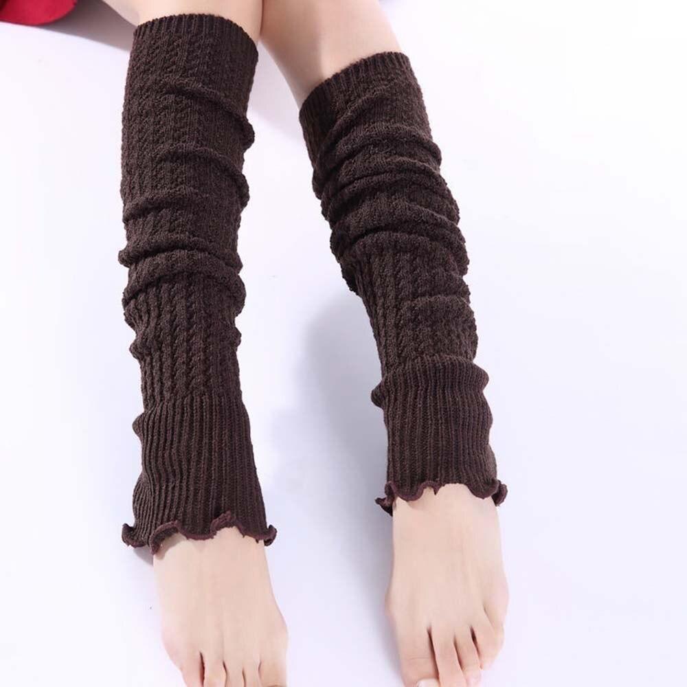 Underwear & Sleepwears Romantic 1 Pcs Keep Winter Warm Knit Wool Crochet Leg Warmers Leggings Warmers Casual Solid Knitting Wool Goods Of Every Description Are Available